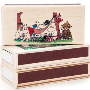 Moomin matchbox garden coloured b isoisän puulelut