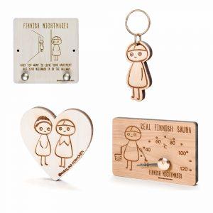 Finnish Nightmares (calendar, books, postcards, key rings, magnets, mascots)