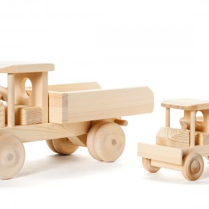 Wooden toys natural