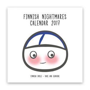 Calendar Finnish Nightmares Isoisan Puulelut Pappaspocket