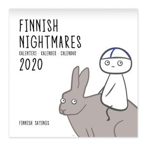 Finnish Nightmares (books, postcards, mascots, magnets, key rings)