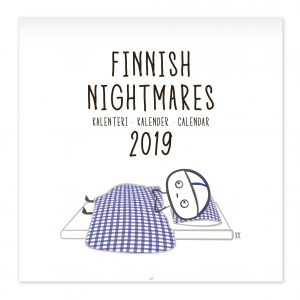 Finnish Nightmares (calendar, books, postcards, mascots, magnets, key rings) Calendar 2019 available NOW!