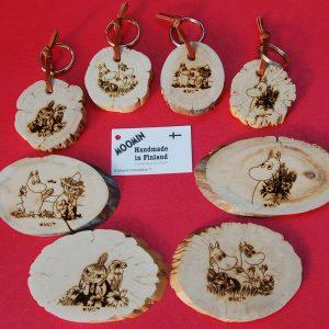 Key rings&magnets Isoisän Puulelut
